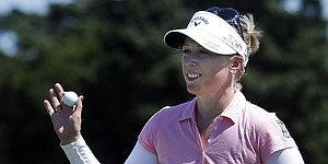 Morgan Pressel shoots 66, one back at Evian Championship