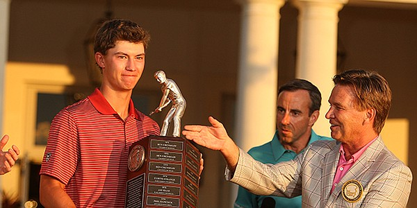Maverick McNealy earns Barbasol Championship exemption