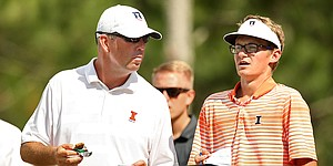 Mike Small, 49, eyes Champions Tour, says coaching Illinois still top priority
