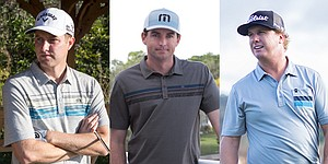 U.S. Open: Bradley, Kirk and Hoffman scripted TravisMathew polos