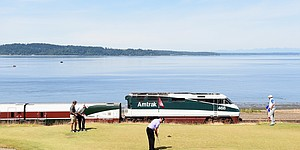 PHOTOS: U.S. Open at Chambers Bay, Monday