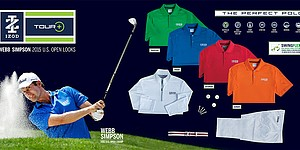 U.S. Open: Webb Simpson's Izod scripted apparel