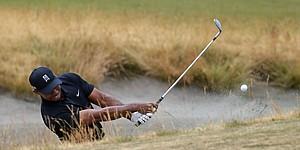 PHOTOS: Tiger Woods at U.S. Open, Round 1