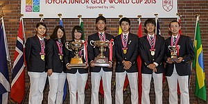 Japan sweeps at Toyota Junior Golf World Cup