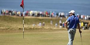 Rory McIlroy struggles on fast, firm U.S. Open setup
