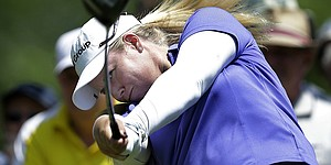 Trio posts 65 before LPGA play halted in Arkansas
