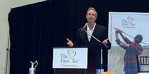 Ian Baker-Finch shares magic moment at First Tee of Conn.