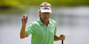 With Langer, Maggert on top, U.S. Senior Open has major feel