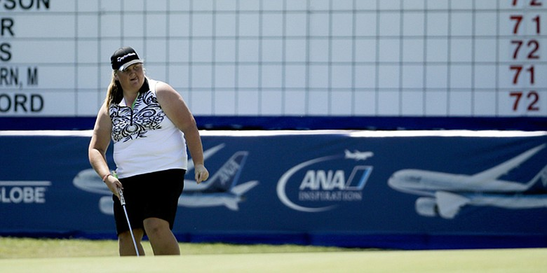 Haley Moore, shown at the 2015 ANA Inspiration
