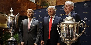 PGA of America entered dealings with Trump warily, source says