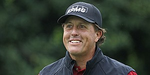 Mickelson offers no insight regarding his ties to illegal-gambling case