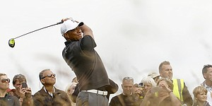 Tiger Woods gets early look at St. Andrews for British Open