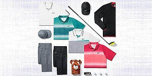 British Open scripting for Tiger Woods, Nike golfers
