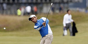 Langasque learns from France's best in preparing for British Open debut