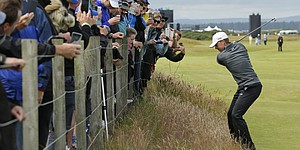 PHOTOS: Wednesday at the 2015 British Open