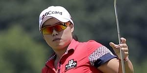 Jang takes first-round lead at LPGA's Marathon Classic