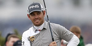 While most of PGA Tour seeks finish, �rested� Louis Oosthuizen hits his stride