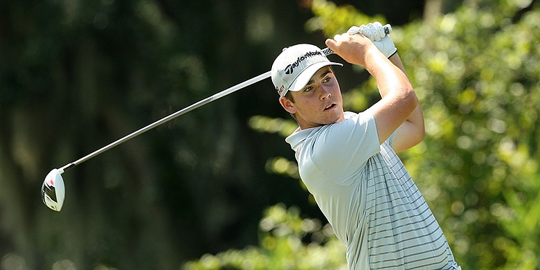 Matthew Wolff, pictured during the Round of 32 at the 2015 U.S. Junior Amateur Championship