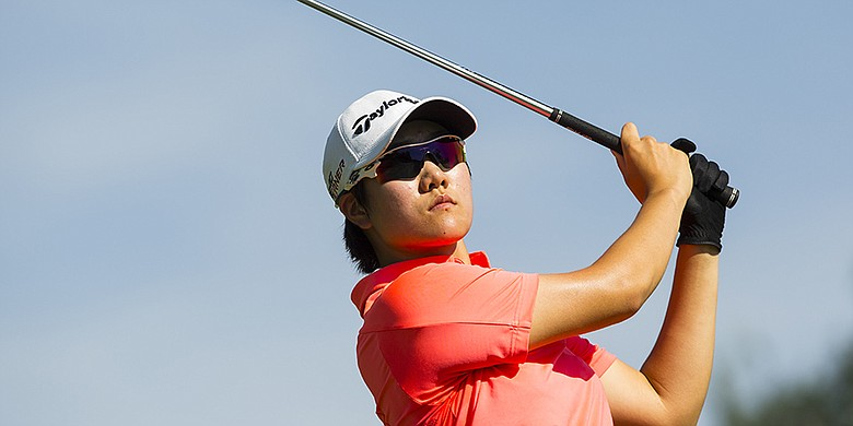 Eun Jeong Seong, shown at the 2015 U.S. Girls' Junior