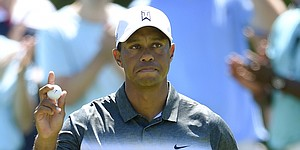 Woods, Fowler chasing Ishikawa at Quicken Loans National