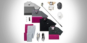 Rory McIlroy's scripted Nike apparel for PGA Championship