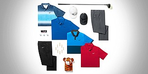 Tiger Woods' scripted Nike apparel for PGA Championship