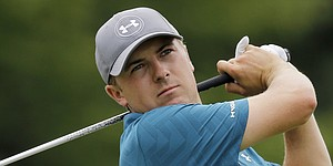 Jordan Spieth's scripted Under Armour apparel for PGA Championship