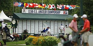 PHOTOS: 2015 U. S. Amateur (Monday)