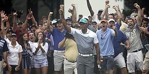 Recap: Tiger Woods opens Wyndham with 6-under 64