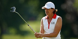 Inkster keeps eye on U.S. Solheim Cup team as she excels at Evian