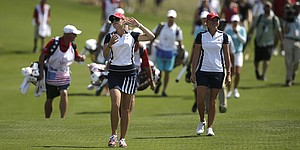 Underdog U.S. team tries to deflect pressure entering Solheim Cup