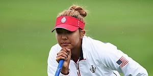 Alison Lee sidelined by food poisoning at Solheim Cup