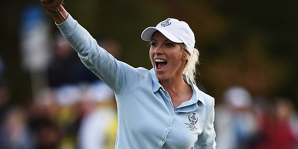 Mel Reid writes new chapter in Germany at 2015 Solheim Cup