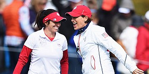 Team USA faces crucial four-balls finish at Solheim Cup