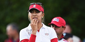 Pro golfers react to controversial Solheim Cup moment on Twitter