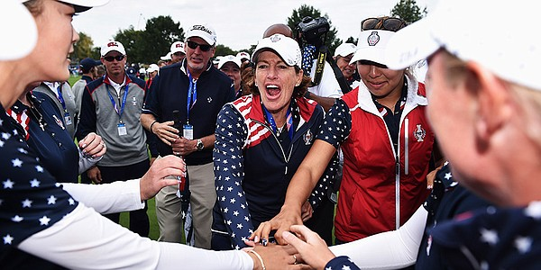 USA completes historic comeback to win Solheim Cup
