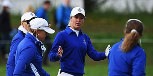 Controversy swirls at Solheim Cup as Europe takes big lead