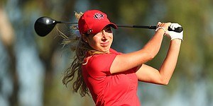 Henrikson powers San Diego State to lead at Red Sky