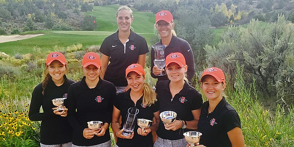 Henrikson, San Diego State win Women's Conference Challenge in record fashion