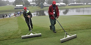 East Lake grass eliminates lift, clean, place at Tour Championship