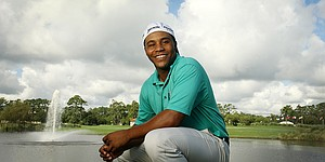 Harold Varner III aims to be toast of PGA Tour in rookie year