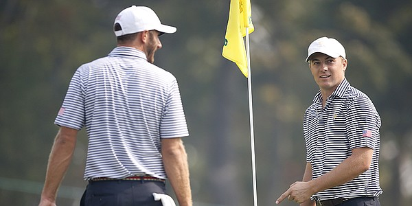 Jordan Spieth gets his wish for Presidents Cup in pairing with Dustin Johnson