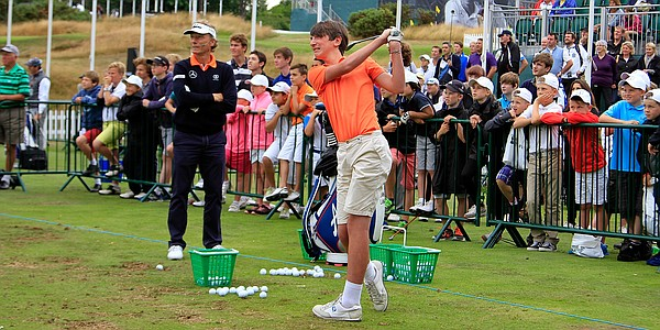 European Tour says golf participation in United Kingdom is thriving