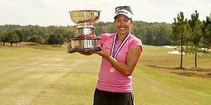 Greenlief downs defending champion, becomes youngest U.S. Women's Mid-Amateur winner