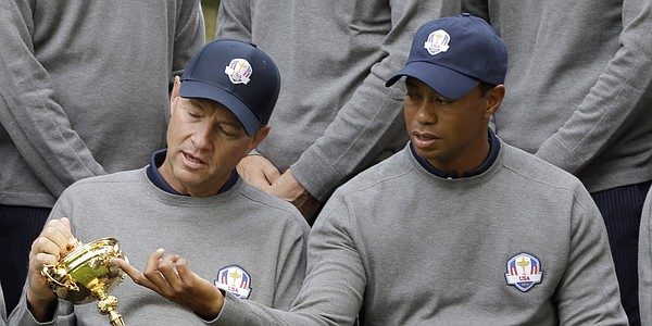 Tiger Woods volunteers as 2016 Ryder Cup assistant in call to Love