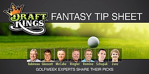 DraftKings Fantasy Tip Sheet: Expert picks for Shriners Open