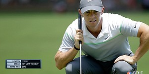 Golf Channel starts new season with Green Reader putting graphic