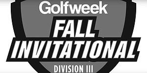 VIDEO: Golfweek Division III Fall Invitational recap