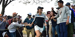 LPGA's Asian Swing has pros and cons for golfers, who are treated like rock stars