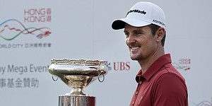 Rose outlasts Bjerregaard for Hong Kong Open title